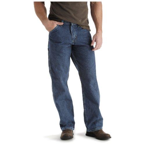 LEE Men's Loose-Fit Carpenter Jean, Quartz Stone, 28W x 30L