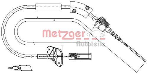 Metzger 12.7202 COFLE Seilzug Kupplungsbet/ätigung