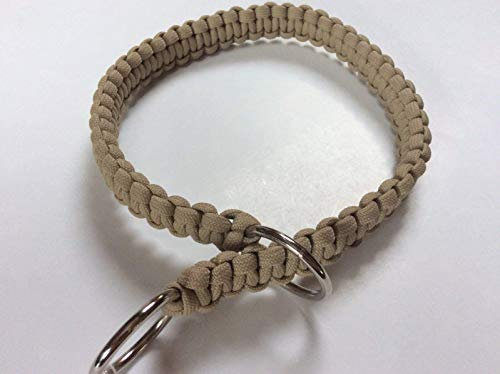 Handmade Paracord Pet Slip Collar Custom Colors and Sizes Available ()