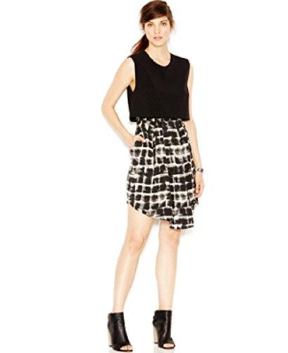 UPC 889177045096, Rachel Rachel Roy Layered Contrast Dress, Black, 8