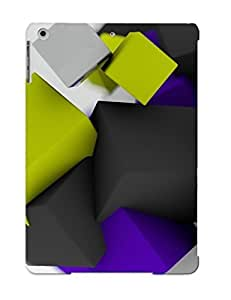 Fashion UfhpRvt1407vQBMj Case Cover Series For Ipad Air(floating Cubes)