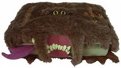 Monster Book of Monsters Plush