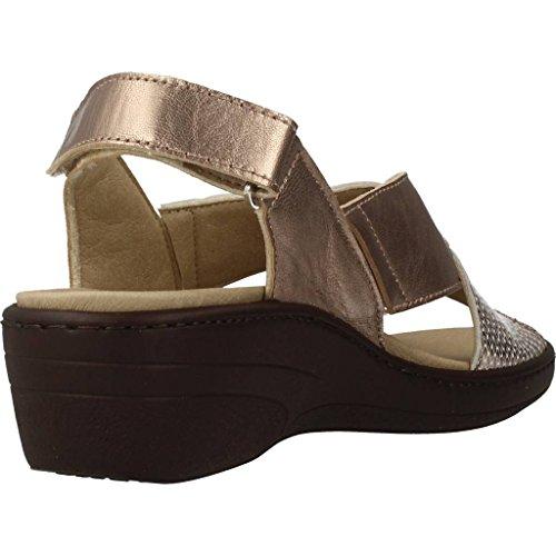 Metálico Zapatos Mujer Cordones Color Marca 7381 Metálico Modelo Para Mujer De Pinosos Pinosos qqa6gXO