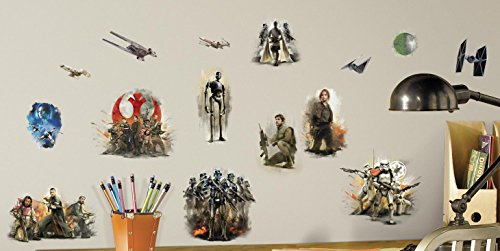 (RoomMates Star Wars Rouge One Peel And Stick Wall Decals )