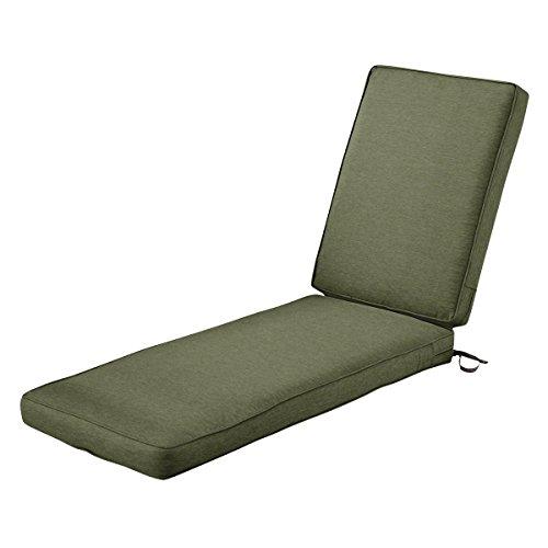 Classic Accessories Montlake Patio FadeSafe Chaise Lounge Cushion, Fern, 80″Lx26″Wx3 ...