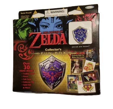 2016 Nintendo The Legend Of Zelda Collectors Trading Cards Value Box - 4 packs of 6 cards each (Assorted Pin)