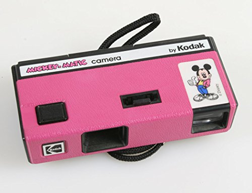 PINK DISNEY MICKEY MATIC 110 FILM CAMERA BY KODAK