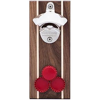 DropCatch Magnetic Bottle Opener & Cap Catcher, Pilsner, 70 Caps
