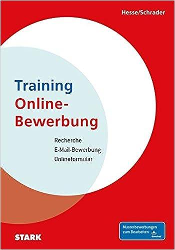 hesseschrader training online bewerbung jrgen hesse hans christian schrader amazonde bcher - Amazon Online Bewerbung