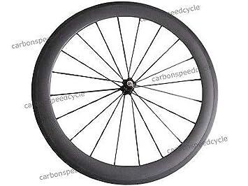 FidgetGear CSC Novatec A271SB/F372SB 700C - Ruedas para Bicicleta de Carretera (60 mm): Amazon.es: Deportes y aire libre