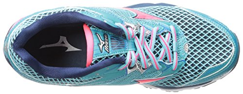 Dress B Blue 6 Women's Running Wave Pink Capri Mizuno Shoe pink US Diva Creation 18 Capri TqUxx7zWwv