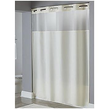 hookless shower curtain longer length curtain