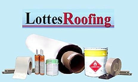 10u0027 X 30u0027 RV Or Residential 60 Mil White EPDM Roofing Kit