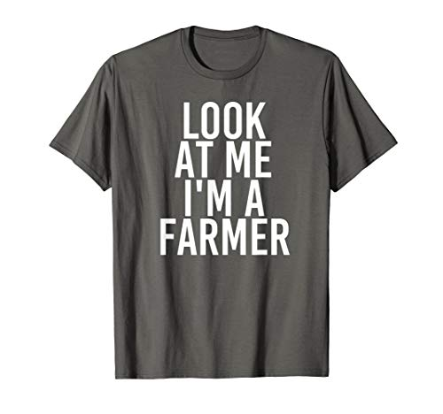 Farmer Costume Group Easy Outfit Shirt for Halloween ()