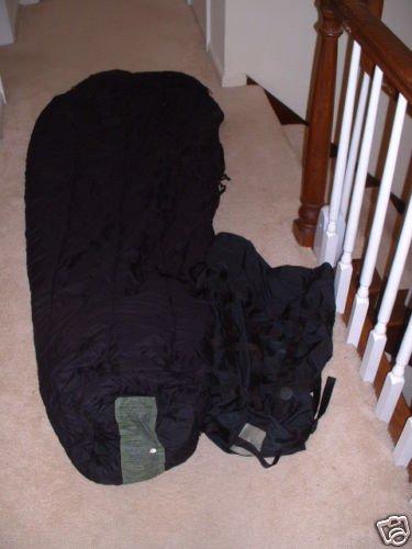-10f US Military Modular Black Sleeping Bag and COMPRESSION STUFF SACK, Outdoor Stuffs