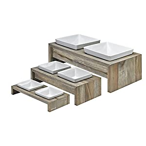Bowsers Artisan Diner Double Dog Feeder 8