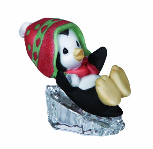 Precious Moments Penguin Sliding Figurine