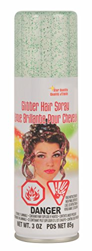 Rubie's Glitter Hairspray, -