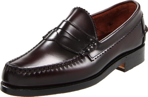 Leather Allen Loafer Edmonds Sole Burgundy Kenwood ZwXznxFqZ