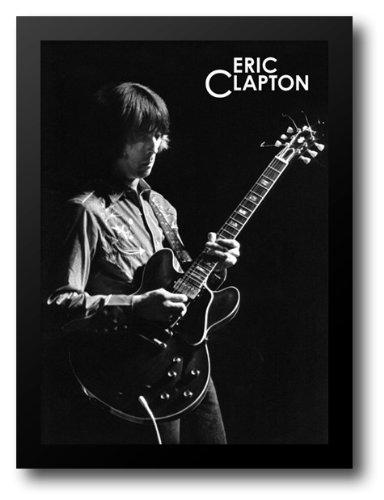 Eric Clapton Solo 28x38 Framed Art Print