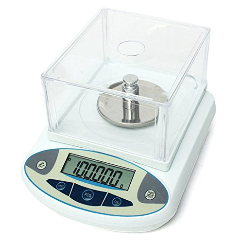 - High Precision Lab Digital Precision Analytical Balance Lab Scale 1mg Precision Electronic Balance Jewelry Scales Kitchen Precision Weighing Electronic Scale Calibrated & Ready to use (100g, 0.001g)