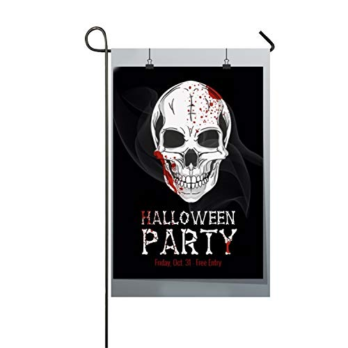 Halloween Printable Flyer Polyester Garden Flag Balcony -