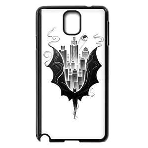 Batman City Scape Samsung Galaxy Note 3 Cell Phone Case Black DIY Present pjz003_6536591