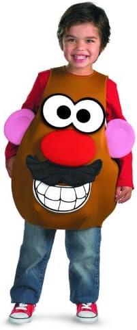 Hasbro Mr Potato Head Deluxe Child Costume, Toddler (3T-4T ...