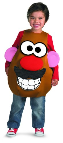 Mr Potato Head Deluxe Child Costume, Toddler (3T-4T)