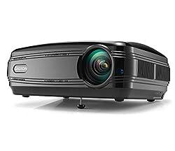 Djsada Zlll G58 3200 Lumens Hd Projector Projectors Support Home Cinema Projector Pico Projector Hd High Resolution Projector Black
