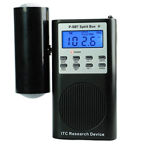 SB7 Spirit Box for Ghost Hunting - Newest Model with FM+AM and Speaker (Ghost Radio Box)