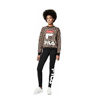 Całkiem nowy 50% ceny gdzie kupić Fila Women's Sweatshirt Leopard Medium: Amazon.co.uk: Clothing
