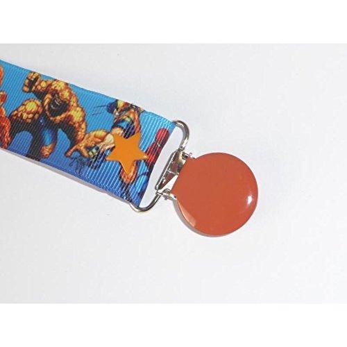 Amazon.com: Clip de chupete Heros Marvel: Baby