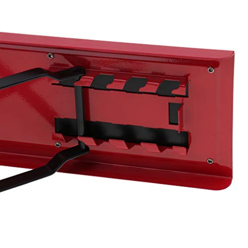 Baosity Foldable Metal Guitar Foot Rest Anti-slip Stand 4-Level for Guitar Player - Red by Baosity (Image #6)