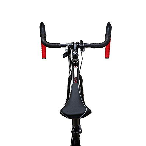 ed1ce5625fb EUROBIKE Road Bike TSM550 21 Speed Dual Disc Brake 700C Wheels Road Bicycle