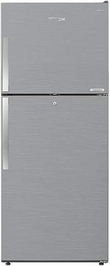 Voltas Beko 440 L 3 Star Inverter Frost-Free Double Door Refrigerator (RFF463IF, Silver)