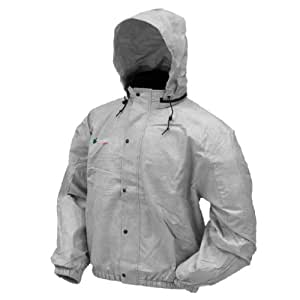 Frogg Toggs Pro Action Jacket Gray Extra Large XL PA63102-07XL