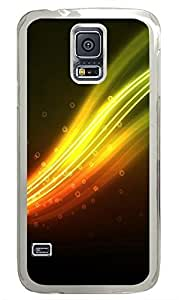 Samsung Galaxy S5 Colorful Lines PC Custom Samsung Galaxy S5 Case Cover Transparent by icecream design