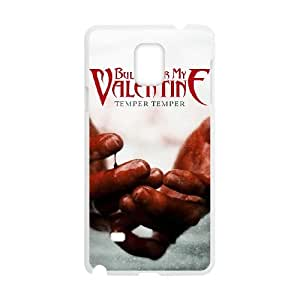 Samsung Galaxy Note 4 Cell Phone Case Covers White Bullet For My Valentine Wjfim
