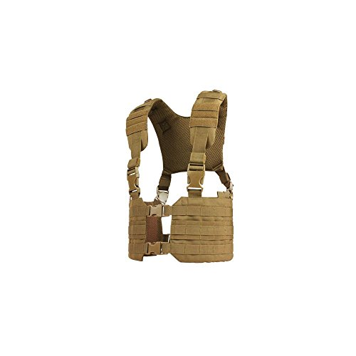 CONDOR MCR7 MOLLE Tactical Ronin Chest Rig Split Vest - Brown MCR7-498