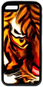 Tiger Face Colorful Painting Theme Iphone 5C Case