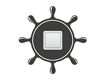 Wandtattoo Schalter Steckdosentattoo Schiffsruder Nr 1 Badezimmer