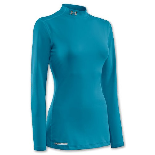 Women's ColdGear® Fitted Long Sleeve Mock Extra Large