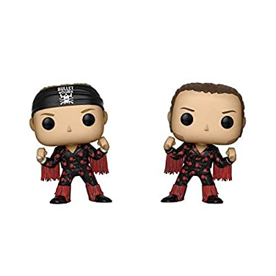 Funko Pop! Wrestling: Bullet Club - Young Bucks 2 Pack, Multicolor: Toys & Games