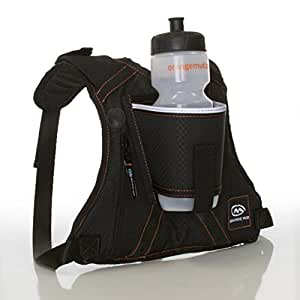 Orange Mud HydraQuiver Single Barrel Hydration Pack - Black