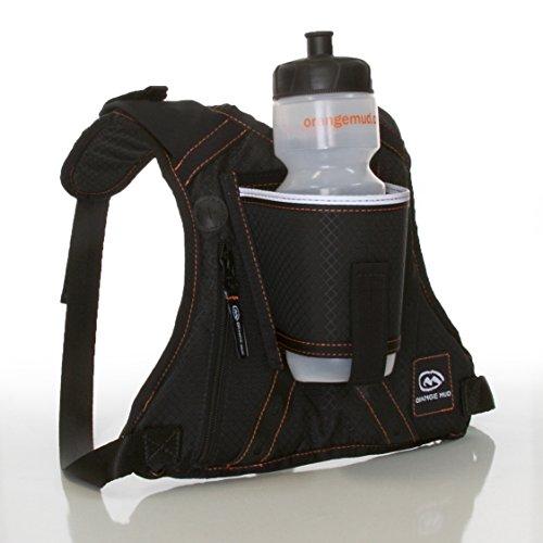 Orange Mud HydraQuiver Single Barrel Hydration Pack - Black