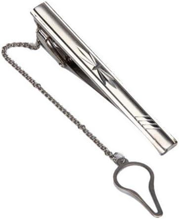 SODIAL (R) 2, 36 pulgadas presilla recta de corbata prendedores ...