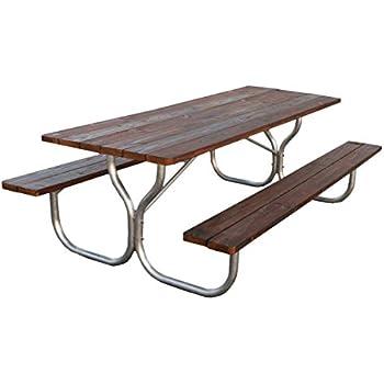 Amazon.com : Aluminum picnic table frame- frame only~ Rosendale ...