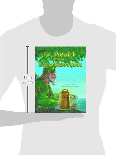 St. Patrick and the Three Brave Mice by Pelican Publishing (Image #1)