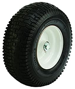 SherrillTree 35687 Replacement Tire Rim for Log Dolly and Trolley, White
